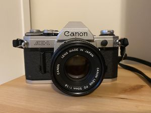 Film Camera Canon AE-1 with lenses for Sale in Brookline, MA