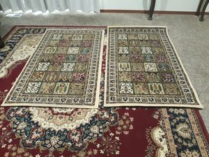 2 rug size 4x2 for Sale in Everett, WA