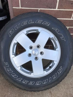 Tires and Rims all five for Sale in Ashburn, VA