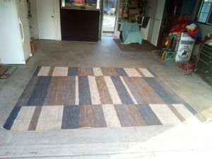 Modern 120x96 in. area rug. Great condition. Yes it is still available for Sale in Fresno, CA