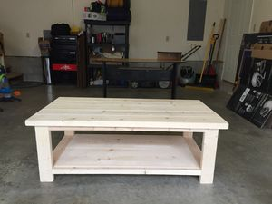 Homemade coffee table for Sale in Palmyra, VA