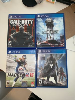 Ps4 games for Sale in Wenatchee, WA