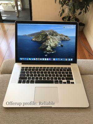 2015 Apple Macbook Pro 15-inch Retina laptop new screen computer for Sale in Burbank, CA
