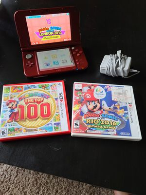 Nintendo 3DS XL with games for Sale in Houston, TX