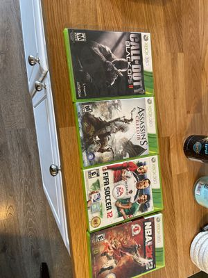 Xbox 360 games - make an offer for Sale in Vancouver, WA