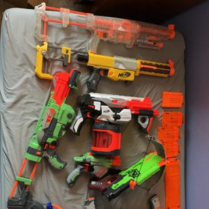 Nerf guns + accessories for Sale in Denver, CO