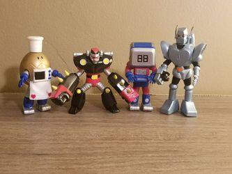 ROBOCON Gashapon 4 Figure Set Bandai Cosmic Artifacts for Sale in South Bend,  WA