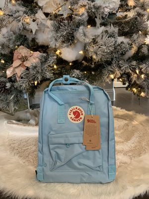 Authentic Fjällräven Classic Kanken Backpack- Sky Blue for Sale in Rockwall, TX