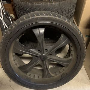 26 Inch Rims And Tires for Sale in Riverside, CA