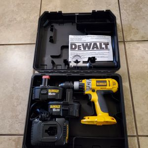 Heavy Duty 18-Volt XRP NiCd Cordless 1/2 in. Hammer Drill/Driver Pack With Battery's and Charger for Sale in Phoenix, AZ