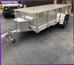 $1000.00 Nice! Custom Aluminum Trailer For Sale. for Sale in Wichita, KS