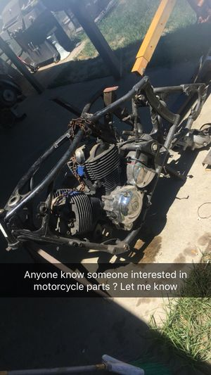 Motorcycle parts for Sale in Visalia, CA