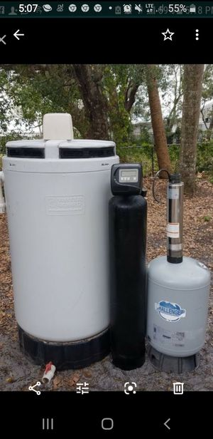 Well water system set for Sale in Fort Myers, FL