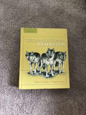 Organizational Behavior 9th edition for Sale in Marysville, WA