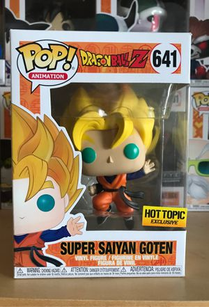 Dragonball Z Funko Pop Super Saiyan Goten for Sale in Plano, TX