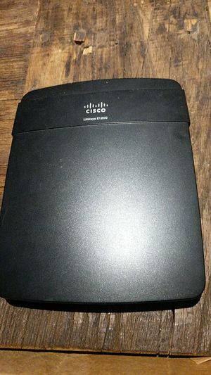 Cisco router Linksys e1200 for Sale in Washington, DC