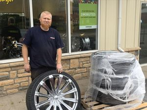 Big boy wheels and tires for Sale in Columbus, OH