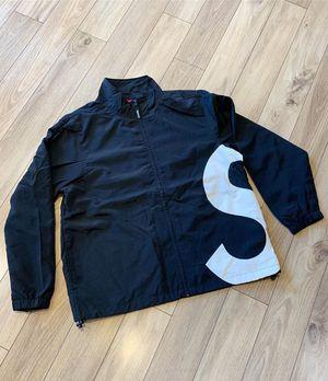 """SUPREME """"S LOGO"""" ZIP UP JACKET for Sale in Atlanta, GA"""