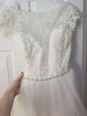 Plus size wedding dress for Sale in North Reading, MA