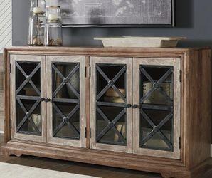 Ellisburg Antique Brown Accent Cabinet by Ashley for Sale in Arlington,  VA