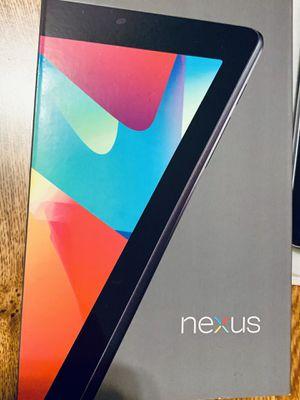 Nexus 7 tablet with Beats Headphones bundle! for Sale in San Antonio, TX