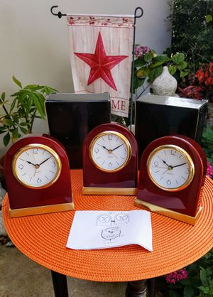New Quartz alarm clock $28 each see all pictures for Sale in Clearwater, FL