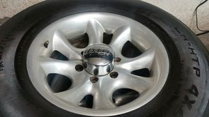 """Wheels and tires 16"""" 6 lug for Sale in Riverside, CA"""