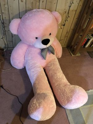 GIANT pink teddy bear for Sale in Seattle, WA