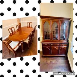 Dining Table Set, Includes Table/chairs/hutch for Sale in Winter Garden,  FL