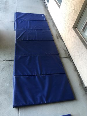Gymnastics / Workout Mats. 2 , one long mat and cheese mat for Sale in FL, US