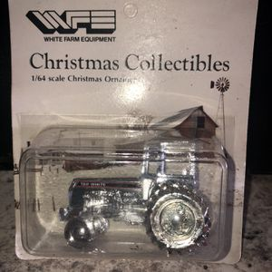 White 160 Tractor Christmas Ornament for Sale in Wilmington, OH