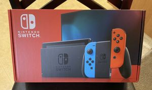 Brand new Nintendo Switch 32gb Neon red/ Neon blue for Sale in Bakersfield, CA