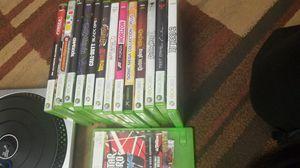 Xbox 360 DJ hero console and games. for Sale in Alexandria, VA