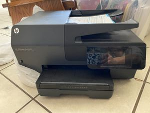 HP printer scanners fax for Sale in Amarillo, TX