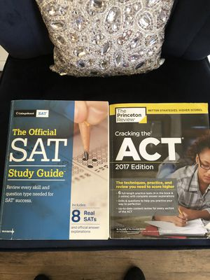 Free ACT and SAT books for Sale in San Diego, CA