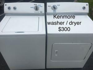 Kenmore washer dryer set / lavadora secadora for Sale in Palmetto Bay, FL