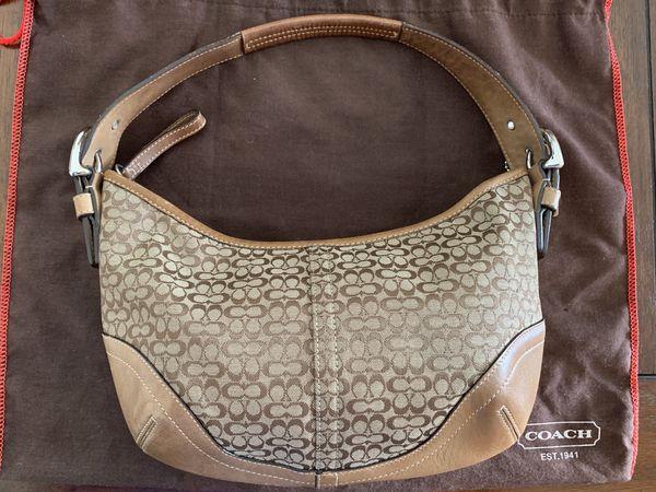 Coach hobo shoulder bag