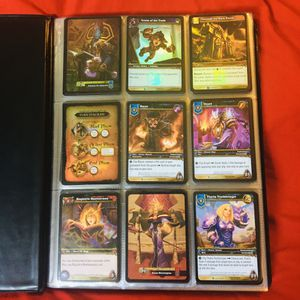 Collectible War Of Warcraft trading Cards for Sale in Casa Grande, AZ