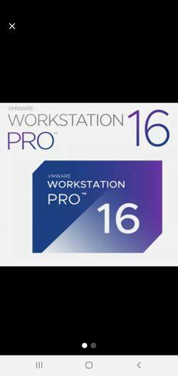 VMWARE Workstation Pro 16 + License for Sale in Martinsburg,  WV