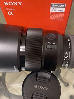 Sony Lens 85 mm 1.8 Open Box for Sale in Miami,  FL