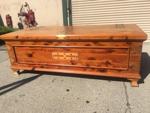 Copper strapped trunk for Sale in Whittier, CA