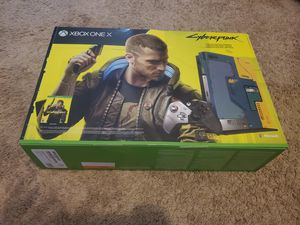 Cyberpunk 2077 Xbox One X 1TB Collectors Edition for Sale in Franklinton, NC