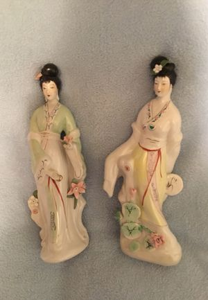 Pair of porcelain Statues for Sale in Cheektowaga, NY