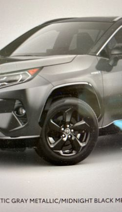 2020 RAV4 black alloy rims for Sale in Seattle,  WA