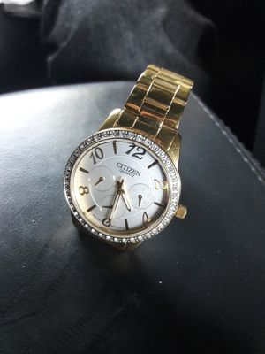 $57 Women's Gold Plated Cittizens Wrist Watch for Sale in Vista, CA
