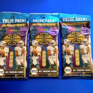 2020 Panini Illusions Football value packs for Sale in Marysville, WA