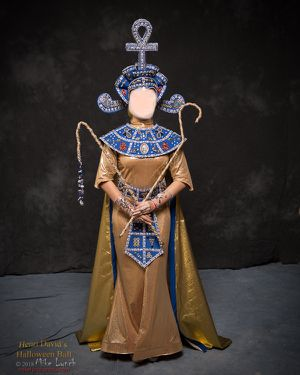 Blue and Gold Cleopatra Costume for Sale in Philadelphia, PA