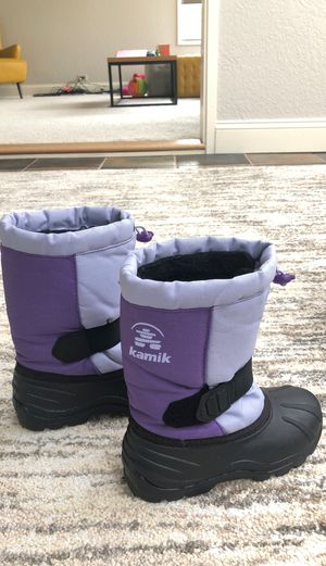 Girl's snow boot - size 12 for Sale in Bellevue, WA