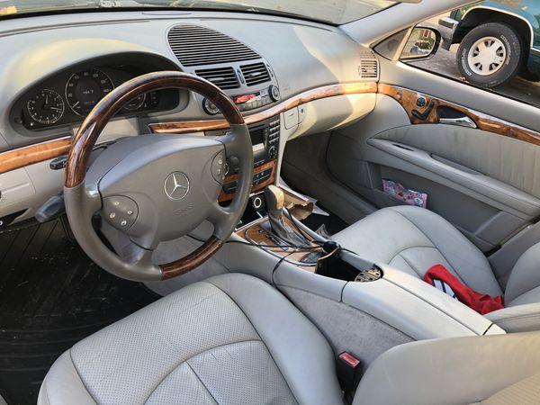 2003 Mercedes Benz E 500