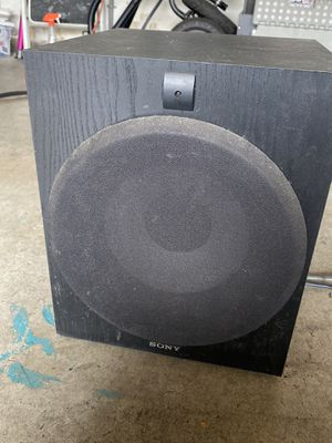 Sony Subwoofer for Sale in Hayward, CA